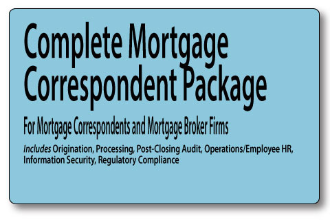 Mortgage underwriting training manuals